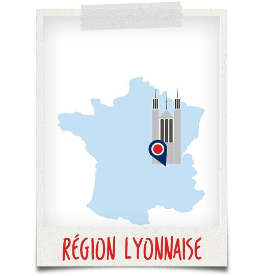 Dépannage Lyon - carte