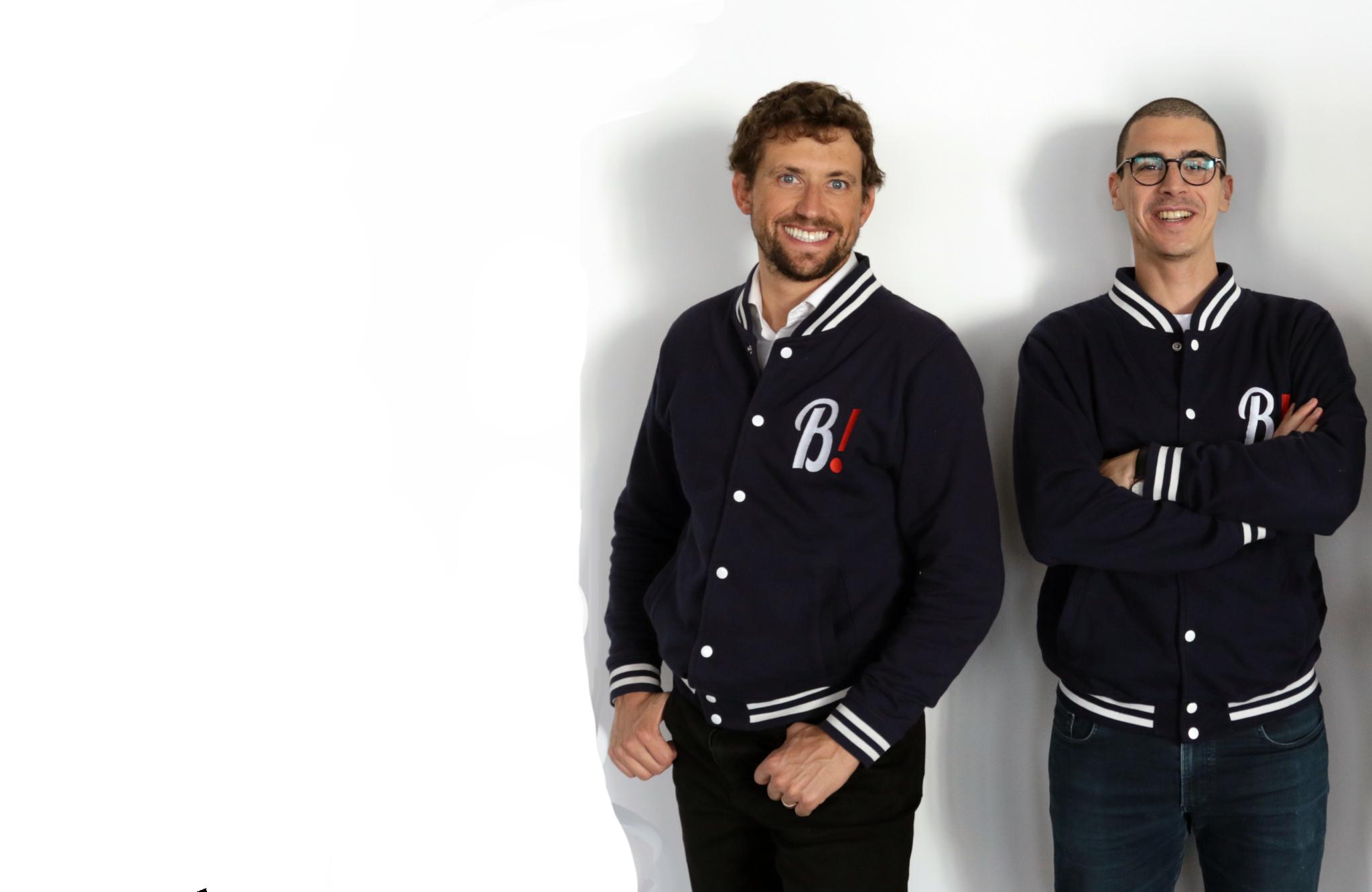 recrutement artisans - Blaise et Hamza, associés et fondateurs de Bob! Dépannage - Bob! maintenance