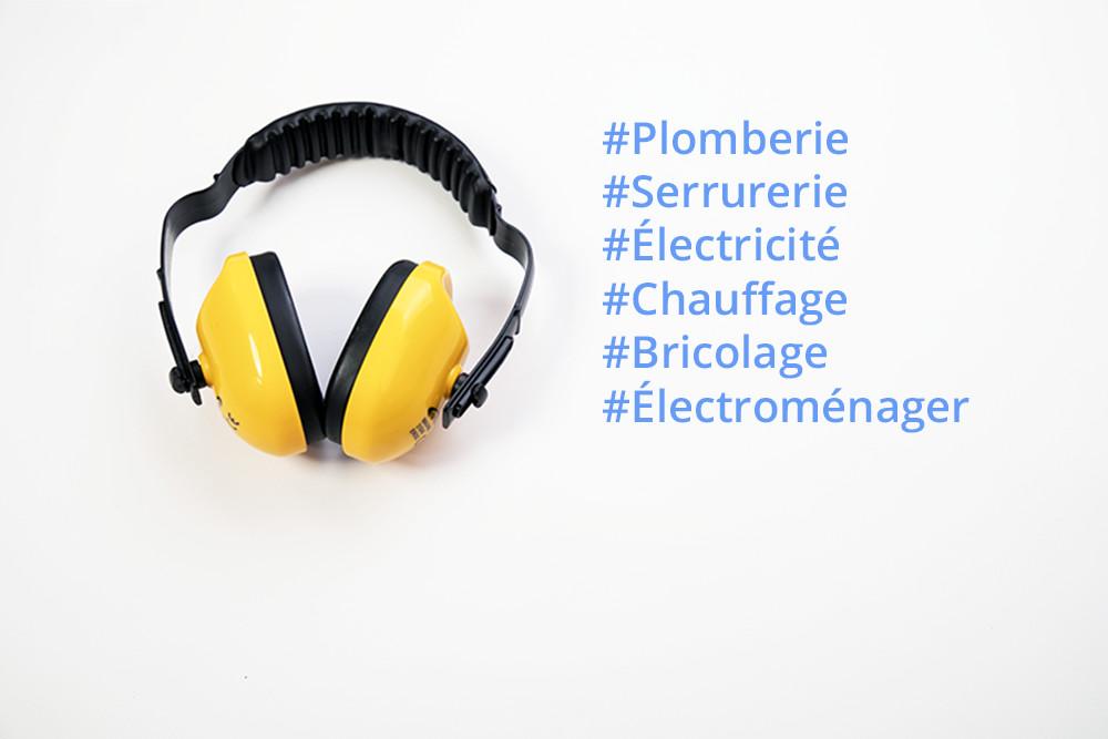 Bob depannage - domaines de services - plomberie electricite chauffage serrurerie bricolage electromenager